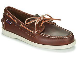 Boat shoes Sebago DOCKSIDES PORTLAND WAXED ΣΤΕΛΕΧΟΣ: Δέρμα & ΕΠΕΝΔΥΣΗ: Δέρμα & ΕΣ. ΣΟΛΑ: Δέρμα & ΕΞ. ΣΟΛΑ: Καουτσούκ