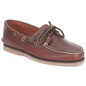 Boat shoes Timberland CLASSIC 2 EYE ΣΤΕΛΕΧΟΣ: Δέρμα & ΕΠΕΝΔΥΣΗ: Δέρμα & ΕΣ. ΣΟΛΑ: Δέρμα & ΕΞ. ΣΟΛΑ: Καουτσούκ