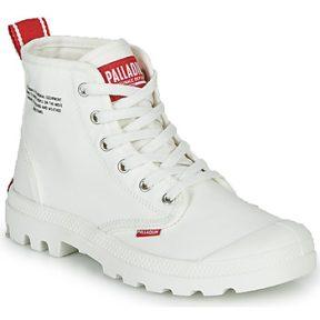 Μπότες Palladium PAMPA HI DU C ΣΤΕΛΕΧΟΣ: Ύφασμα & ΕΠΕΝΔΥΣΗ: Ύφασμα & ΕΣ. ΣΟΛΑ: Ύφασμα & ΕΞ. ΣΟΛΑ: Καουτσούκ