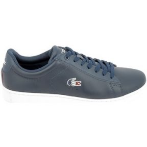 Xαμηλά Sneakers Lacoste Carnaby Evo Bleu Rouge [COMPOSITION_COMPLETE]