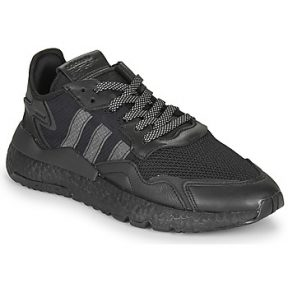 Xαμηλά Sneakers adidas NITE JOGGER ΣΤΕΛΕΧΟΣ: Δέρμα / ύφασμα & ΕΠΕΝΔΥΣΗ: Ύφασμα & ΕΣ. ΣΟΛΑ: Ύφασμα & ΕΞ. ΣΟΛΑ: Καουτσούκ