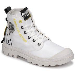 Μπότες Palladium Manufacture PAMPA RCYCL METRO ΣΤΕΛΕΧΟΣ: Φυσικό ύφασμα & ΕΠΕΝΔΥΣΗ: Φυσικό ύφασμα & ΕΣ. ΣΟΛΑ: Φυσικό ύφασμα & ΕΞ. ΣΟΛΑ: Καουτσούκ