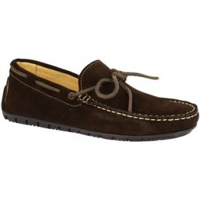 Μοκασσίνια Leonardo Shoes 507 CAMOSCIO T. MORO