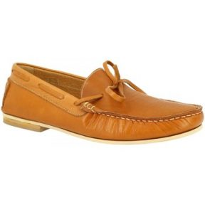 Μοκασσίνια Leonardo Shoes 502 VITELLO CUOIO F. DO TECNO