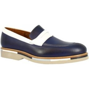 Μοκασσίνια Leonardo Shoes 07779/FORMA 40 GOLF NOTTE