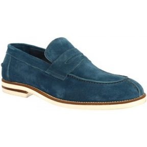Μοκασσίνια Leonardo Shoes M631-21E VELOUR PAVONE