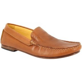 Μοκασσίνια Leonardo Shoes 500 VITELLO BRANDY F. DO CUOIO