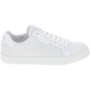 Xαμηλά Sneakers Schmoove Spark Clay Nappa Lezard Blanc [COMPOSITION_COMPLETE]