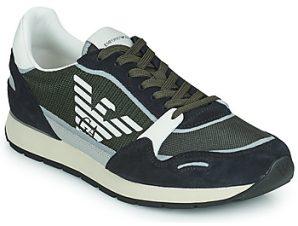 Xαμηλά Sneakers Emporio Armani ANIMA ΣΤΕΛΕΧΟΣ: Ύφασμα & ΕΠΕΝΔΥΣΗ: Ύφασμα & ΕΣ. ΣΟΛΑ: Δέρμα βοοειδούς & ΕΞ. ΣΟΛΑ: Καουτσούκ