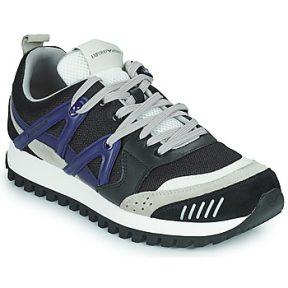 Xαμηλά Sneakers Emporio Armani BOLINNA ΣΤΕΛΕΧΟΣ: Δέρμα βοοειδούς & ΕΠΕΝΔΥΣΗ: Ύφασμα & ΕΣ. ΣΟΛΑ: Συνθετικό & ΕΞ. ΣΟΛΑ: Καουτσούκ