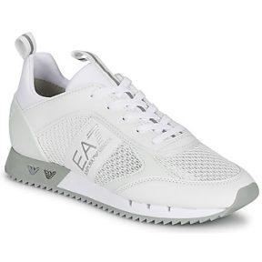 Xαμηλά Sneakers Emporio Armani EA7 BLACK WHITE LACES ΣΤΕΛΕΧΟΣ: Ύφασμα & ΕΠΕΝΔΥΣΗ: Ύφασμα & ΕΣ. ΣΟΛΑ: Συνθετικό & ΕΞ. ΣΟΛΑ: Καουτσούκ