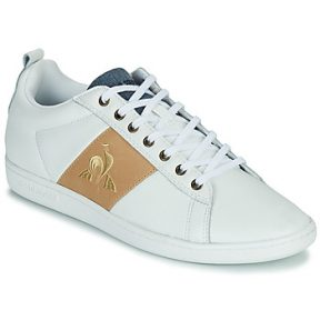 Xαμηλά Sneakers Le Coq Sportif COURTCLASSIC ΣΤΕΛΕΧΟΣ: Δέρμα / ύφασμα & ΕΠΕΝΔΥΣΗ: Ύφασμα & ΕΣ. ΣΟΛΑ: Ύφασμα & ΕΞ. ΣΟΛΑ: Καουτσούκ