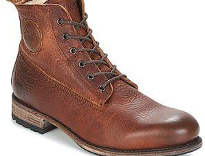 Μπότες Blackstone MID LACE UP BOOT FUR ΣΤΕΛΕΧΟΣ: Δέρμα & ΕΠΕΝΔΥΣΗ: Πραγματική γούνα & ΕΣ. ΣΟΛΑ: Δέρμα & ΕΞ. ΣΟΛΑ: Καουτσούκ