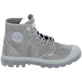 Ψηλά Sneakers Palladium Pampa Hi Wax U Gris Metal [COMPOSITION_COMPLETE]