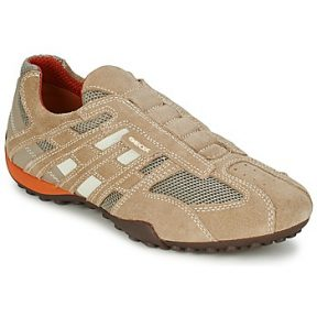 Xαμηλά Sneakers Geox SNAKE ΣΤΕΛΕΧΟΣ: Δέρμα & ΕΠΕΝΔΥΣΗ: Ύφασμα & ΕΣ. ΣΟΛΑ: Δέρμα & ΕΞ. ΣΟΛΑ: Καουτσούκ