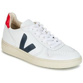Xαμηλά Sneakers Veja V-10 ΣΤΕΛΕΧΟΣ: Δέρμα βοοειδούς & ΕΠΕΝΔΥΣΗ: Ύφασμα & ΕΣ. ΣΟΛΑ: Συνθετικό & ΕΞ. ΣΟΛΑ: Καουτσούκ