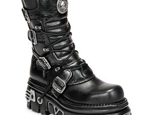 Μπότες New Rock NEMESIS ΣΤΕΛΕΧΟΣ: Δέρμα & ΕΠΕΝΔΥΣΗ: Δέρμα & ΕΣ. ΣΟΛΑ: Δέρμα & ΕΞ. ΣΟΛΑ: Καουτσούκ