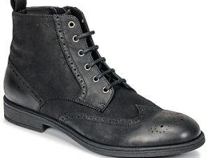 Ψηλά Sneakers Geox U JAYLON ΣΤΕΛΕΧΟΣ: Δέρμα βοοειδούς & ΕΠΕΝΔΥΣΗ: Δέρμα / ύφασμα & ΕΣ. ΣΟΛΑ: Δέρμα και συνθετικό & ΕΞ. ΣΟΛΑ: Καουτσούκ
